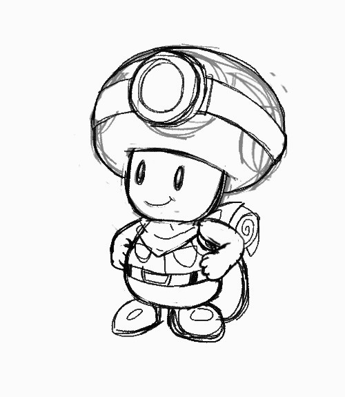 Coloriage Capitaine toad Captain toad Wallpaper Wallpapersafari