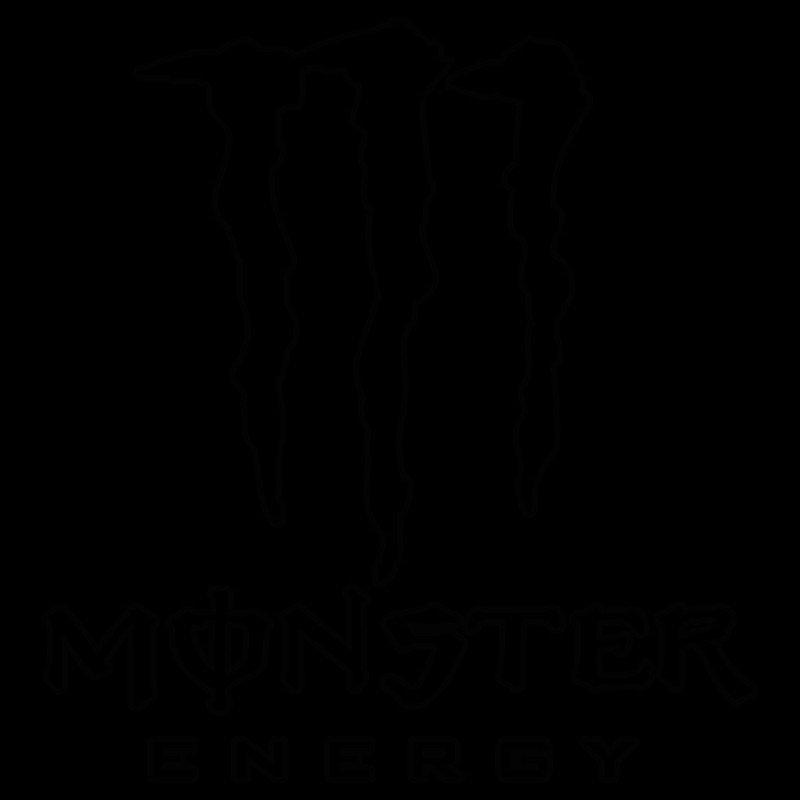 Coloriage Monster Energy Monster Energy Outline Sticker